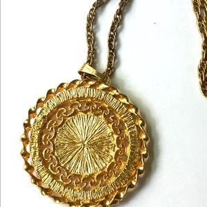 Vintage Jewelry - Indian Head Penny Coin Necklace Vintage